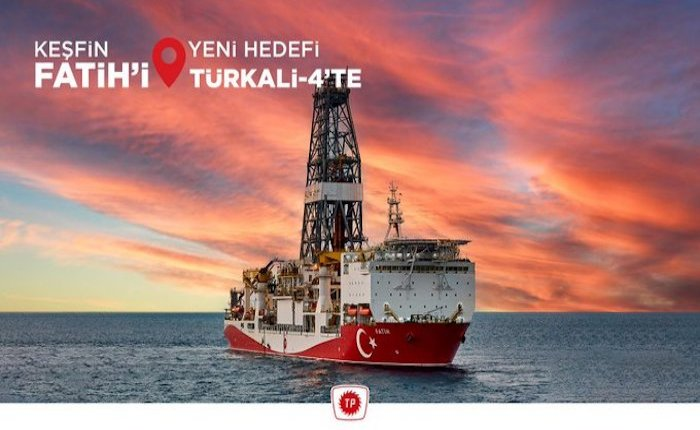 Fatih Gemisi Karadeniz'de yeni tespit sondajına başladı