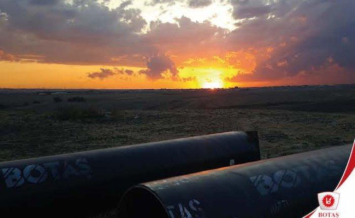 Kütahya-Bozüyük gaz boru hattında kısmi yer değişikliği