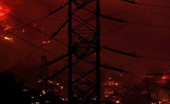 Kemerköy Termik Santrali'nde yangın söndürüldü