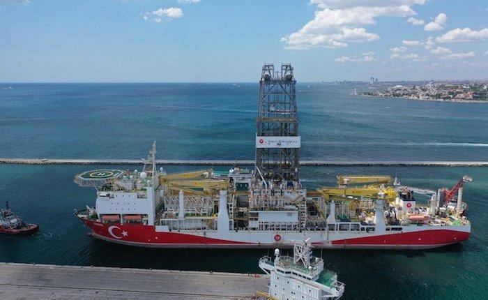 Yavuz Sondaj Gemisi Karadeniz'e hazırlanıyor