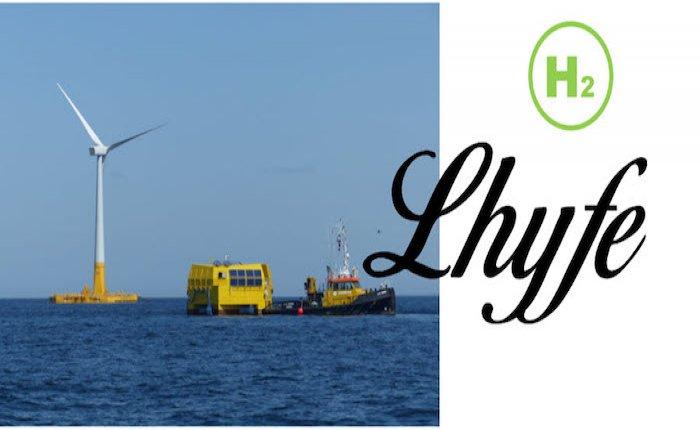 Fransız Lhyfe rüzgar elektriğinden hidrojen üretti