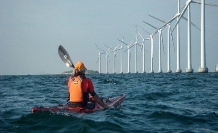 Çin'de dev denizüstü RES elektrik üretmeye başladı