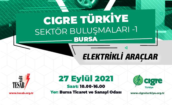 CİGRE Türkiye elektrik sektörünü Bursa'da topluyor