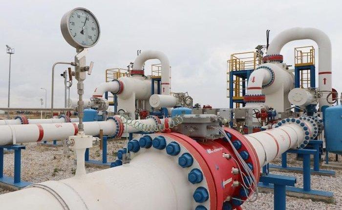 Tuz Gölü Gaz Depolama Tesisi'nin yüzde 51'i tamamlandı