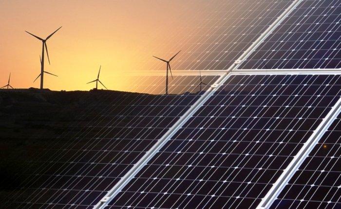 Çin çölde devasa rüzgar ve güneş santralleri kuruyor