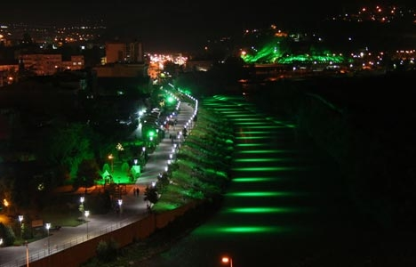 Parkların aydınlatılması konusunda anlaşmazlık!