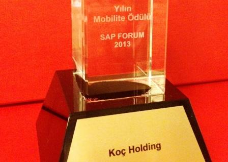 Koç Holding'e SAP Mobilite ödülü