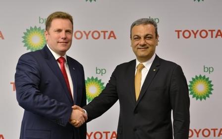 BP ve Toyota'dan işbirliği