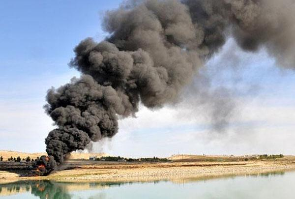 Sarıkamış`ta, Şahdeniz Gaz Boru Hattı`nda patlama...