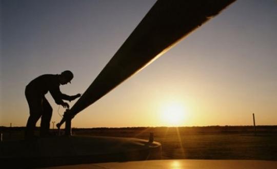 Kürt petrolü için borular test ediliyor