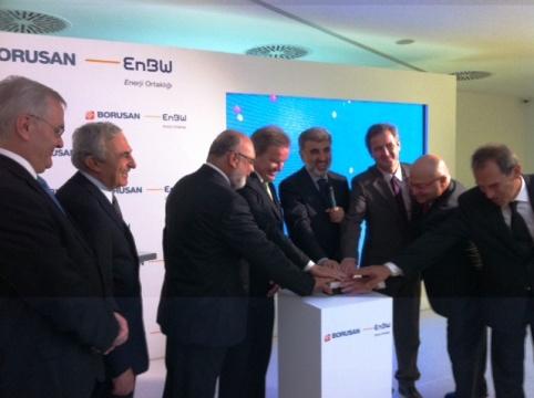 Borusan EnBW`den Tekirdağ`daki 50 MW`lik rüzgar santralına start