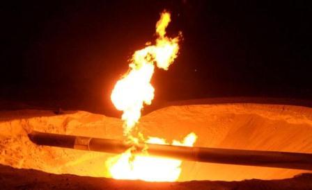 İran doğalgaz boru hattında patlama!