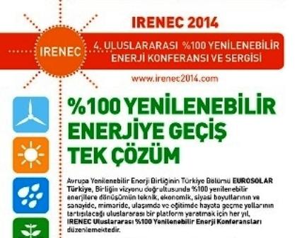 Yüzde 100 Yenilenebilir Enerji konferansı Haziran`da