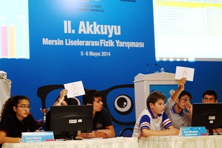 2. Akkuyu Liselerarası Fizik Yarışması tamamlandı