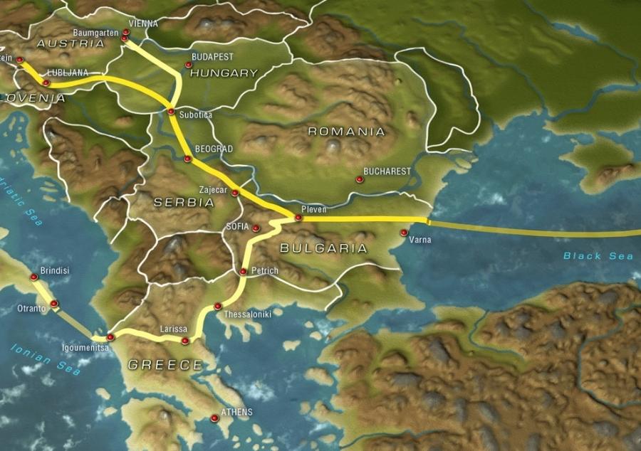 Güney Akım`ın Bulgaristan bölümü inşa ihalesi sonuçlandı