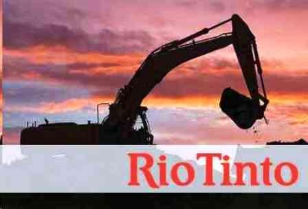 Rio Tinto, yılın ilk yarısında üretimini artırdı