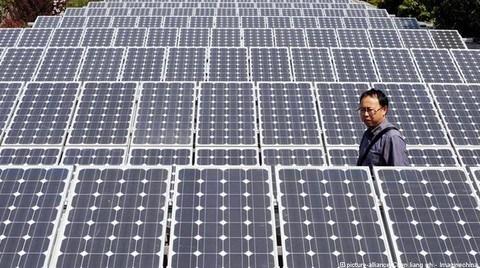 Çin Güneş'ten elektrik üretimini 5 kat arttırdı