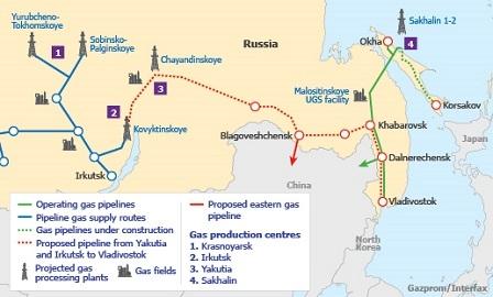 Rusya ile Çin doğalgaz boru hattını görüştü