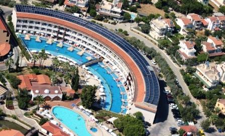 Kuşadası Ephesia Hotel`in sıcak suyu güneşten