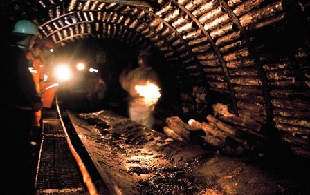 Karaman`da kömür ocağında su baskını