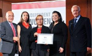 TURCAS`a kadınlarla güçlü yönetim ödülü