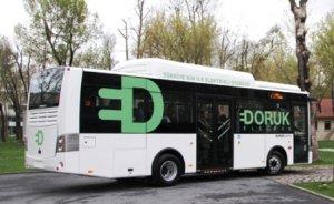 Türkiye`nin ilk elektrikli otobüsü Üniversitelerde
