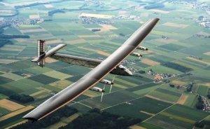 Güneş enerjili uçak gelecek için bir mesaj
