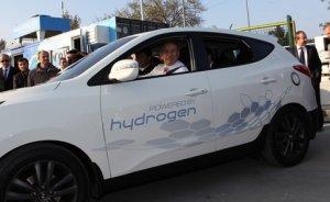 Türkiye`nin ilk hidrojen dolum istasyonu açıldı