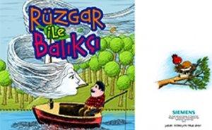 Siemens`ten çocuklara: Sesli kitapla rüzgâr enerjisi