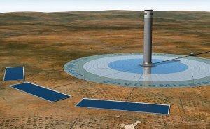 Güneş enerjisi için en büyük kule