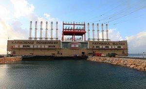 TR`den Irak`a 410 MW`lik yeni yüzer santral