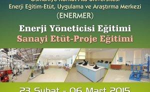Enerji yöneticisi semineri 23 Şubat`ta