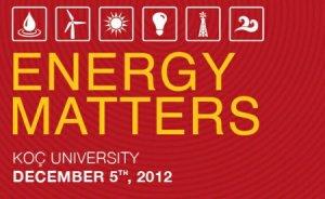Koç Üniversitesi'nde enerji verimliliği tartışıldı