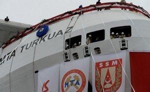 Yerli sismik gemi Turkuaz göreve hazır