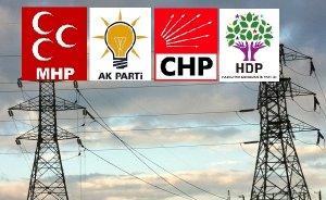 Partiler enerji için ne vaat ediyor?