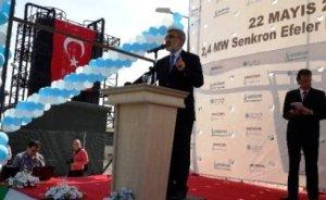 Türkiye`nin ilk yüzde yüz gübreden elektrik üreten tesisi açıldı