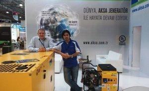 Aksa Jeneratör Bakü'de yeni ürünlerini tanıttı