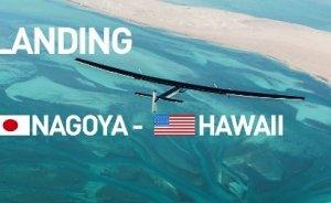 Solar Impulse Büyük Okyanus yolunu tamamlıyor
