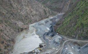 Pervari`deki baraj inşaatında patlama