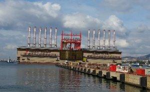 Endonezya ve Gana`ya yüzer santral ihracı