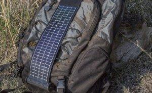 Dağcılara özel mini güneş paneli