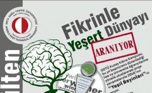 ODTÜ 2016 yılının yeşil beyinlerini arıyor