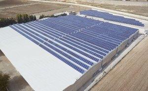 İskur`un fabrikasına ikili güneş uygulaması