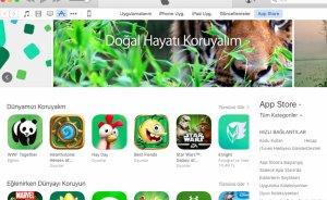 App Store'dan oyun yükle gezegeni koru