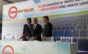 Coşkunoğlu: Güneş sektörünün hızlı büyümesi önlenemeyecek