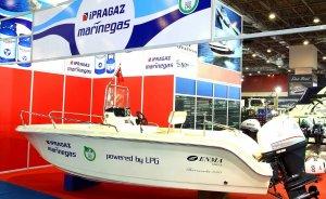 LPG dönüşümlü tekne Avrasya Boat Show'da
