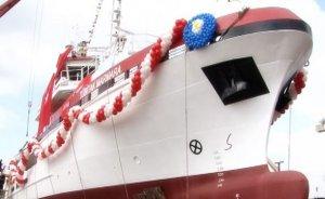 İlk yerli petrol arama gemisi denize indi
