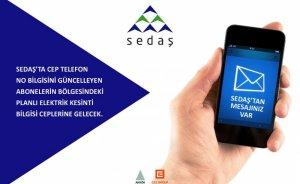 SEDAŞ elektrik kesintilerini SMS ile bildirecek