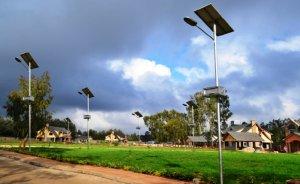 Güneş enerjili sokak aydınlatma pazarı büyüyecek