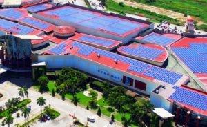 Dünyanın en büyük güneş çatısı Filipinler'de